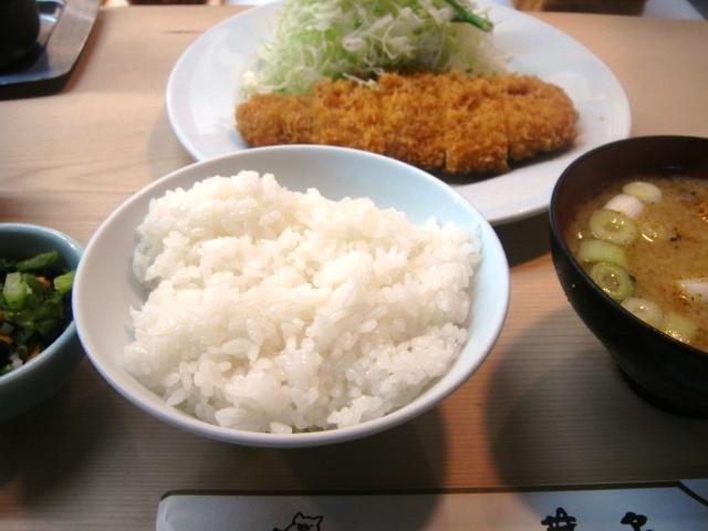 ロースかつ定食@井泉