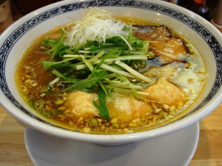 限定 海老ワンタン麺(塩)