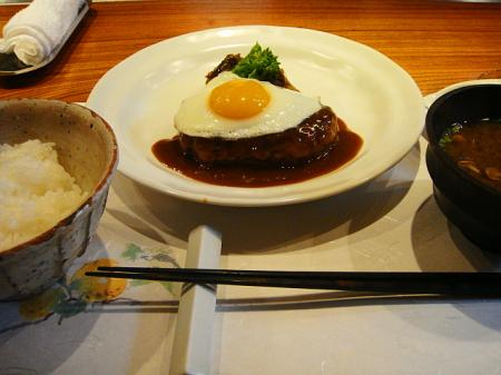 限定10食フォアグラ入りハンバーグ@鉄板焼きkurosawa