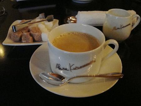 食後のコーヒー@鉄板焼きkurosawa