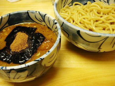つけ麺(並)@自家製麺 然