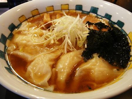 海鮮ワンタン麺@神田磯野