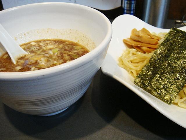 つけ麺@NOODLE AND BAR SANCHA FUKAMI