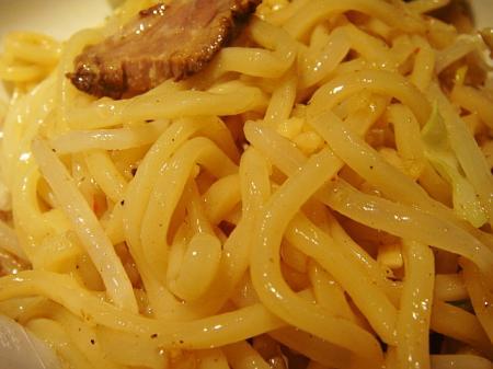 太縮れ麺@松ふじ