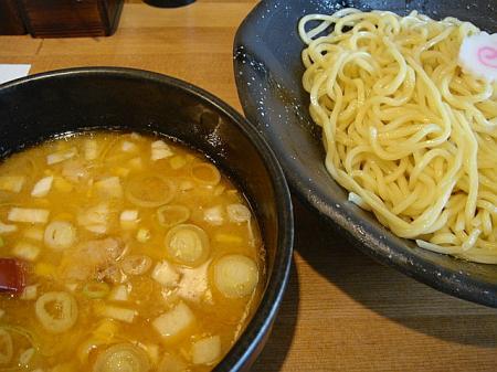 つけ麺(並盛)@めん屋そら 曇天