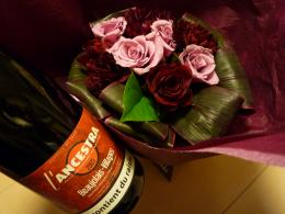 031バラと赤ワイン20081