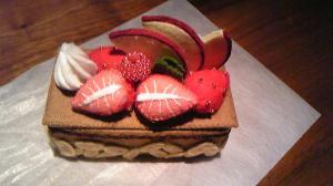 チョコレートケーキ20081106
