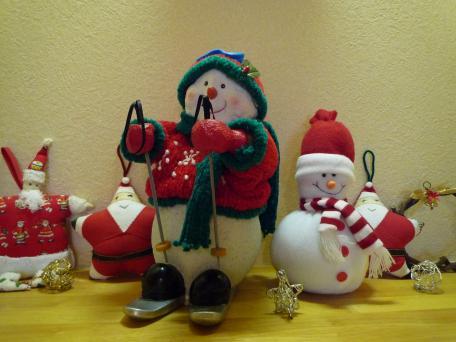 クリスマスの飾りつけ20081207