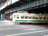 都電荒川線王子駅前停留所付近