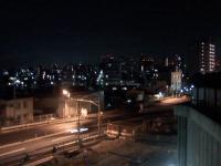 一の坂から新宿を眺める