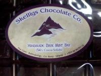 Skelligs Chocolate(スケリッヒ、かな?)、これがいちばん美味かった。