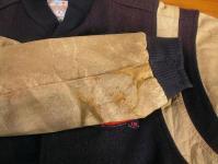 補修後の袖口