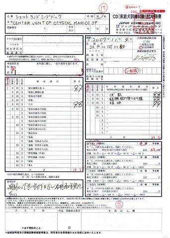 CD1成績