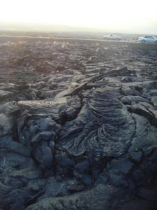 ドロドロだっただろう溶岩
