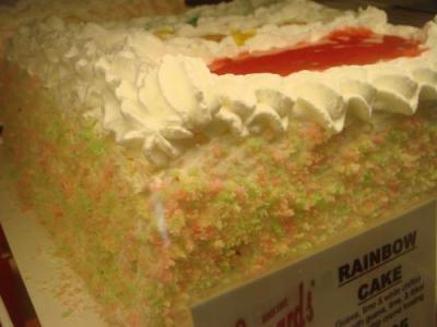 レインボーケーキ♪