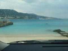 海を見ながら・・