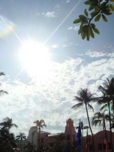 ハワイの空1