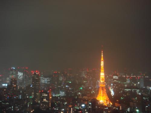 輝く東京タワー