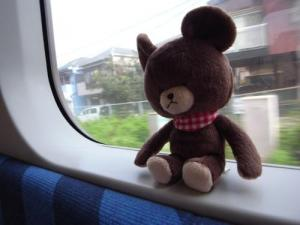 くま子と電車