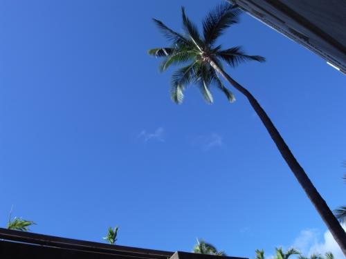 ハワイの空