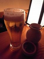 先ずはビール!