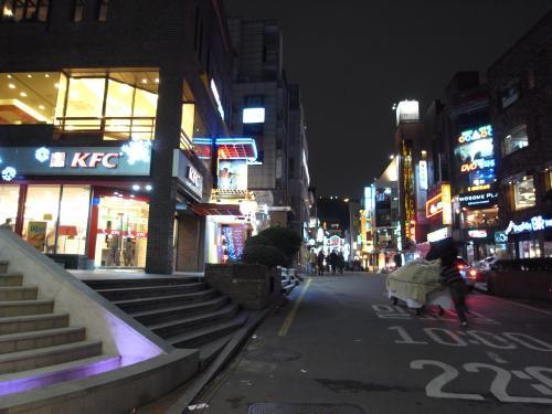 恵化駅付近