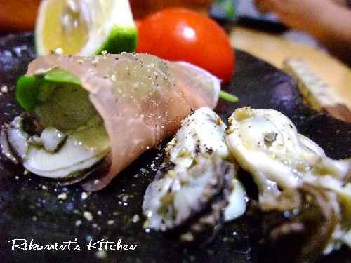 DSCF10・18牡蠣のオイル漬けアップ2
