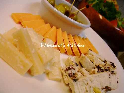 DSCF11・2チーズ&オリーブ