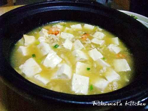 DSCF11・13白い麻婆豆腐