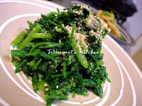 DSCF11・18青菜3種のナムル