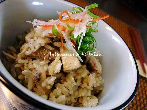 DSCF11・19秋刀魚炊き込み2