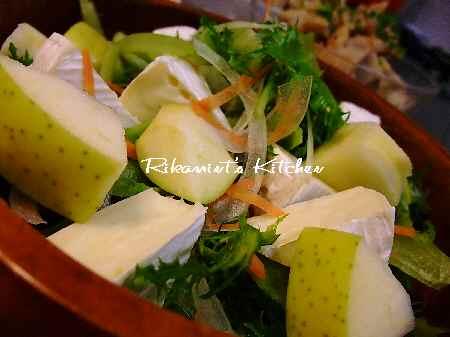 DSCF12・7りんごとカマンベールのサラダ