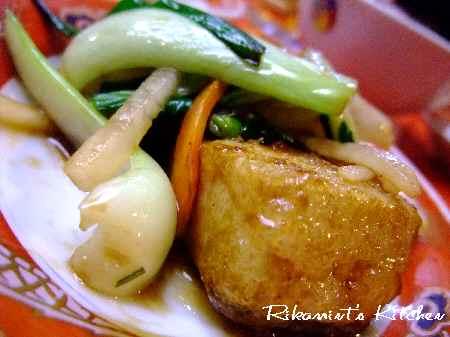 DSCF12・23豆腐の炒め物