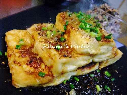 DSCF1・14豆腐のステーキ