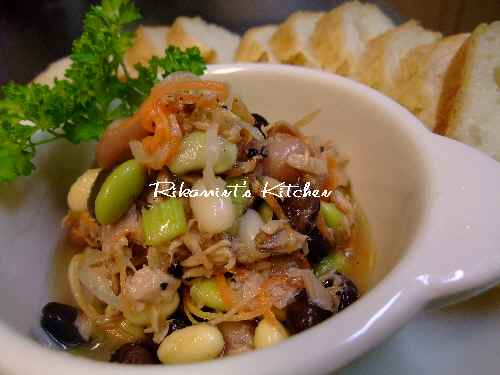 DSCF2・22豆サラ2