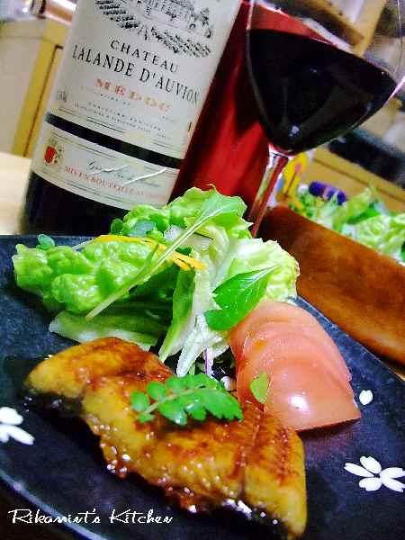 DSCF3・24うなぎ&ワイン