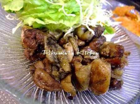 DSCF3・26地鶏の炭焼き