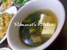 DSCF3・30ホタテと豆腐のスープ