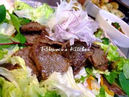 DSCF4・19焼肉サラダ