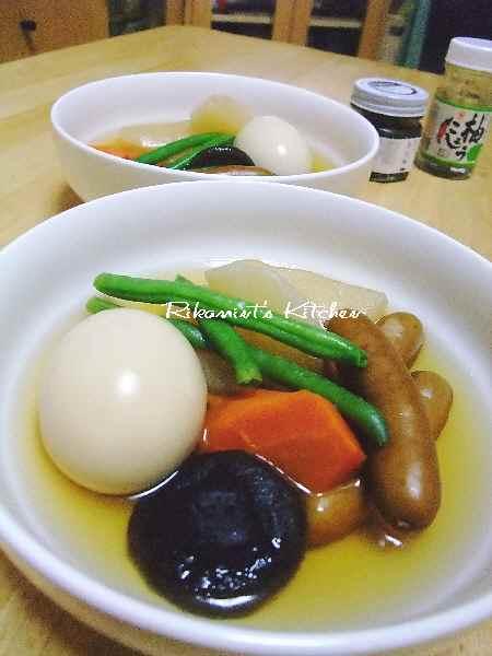 DSCF5・13大根&ソーセージのスープ煮