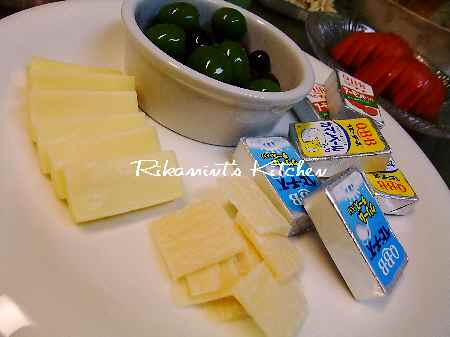 DSCF6・7チーズ&オリーブ