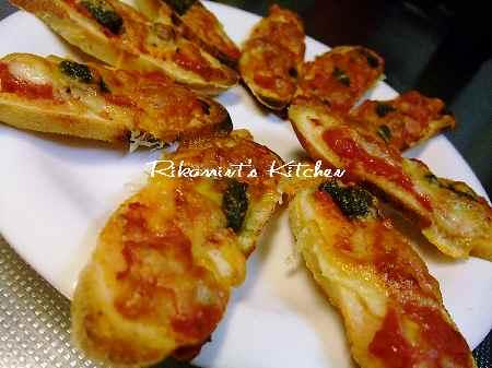 DSCF7・12ピザトースト1