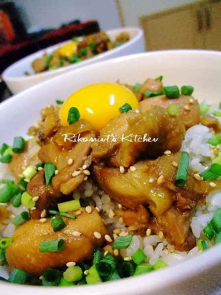 DSCF8・3鶏丼1