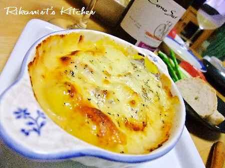 DSCF8・28鮭とジャガイモの味噌マヨ焼き