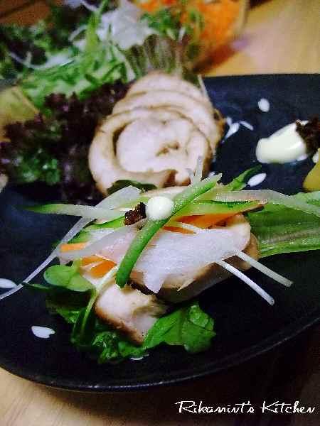 DSCF9・2鶏チャーシューアップ2
