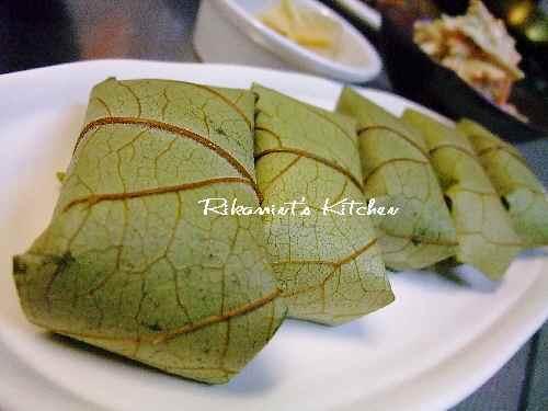 DSCF9・9柿の葉寿司