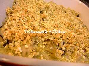 DSCF11・7牡蠣のアーモンド焼き