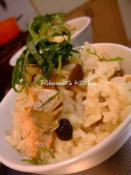 DSCF11・9鮭ご飯1