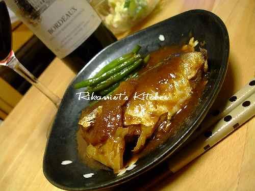DSCF11・11鯖の味噌煮アップ1