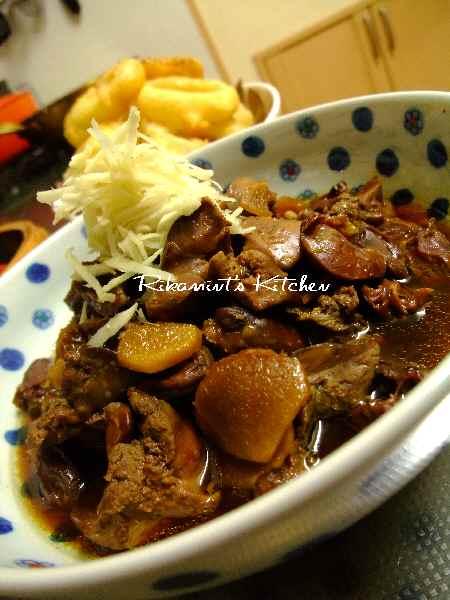 DSCF11・15鶏レバーの甘辛煮5